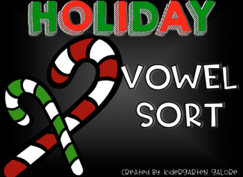 VOWEL SORT - Holiday