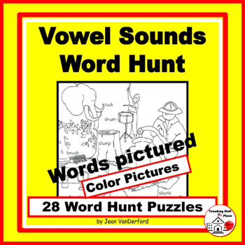 PHONICS: SHORT - LONG - SPECIAL Vowels | Vocabuary | WORD HUNT |Gr 1-3 CORE