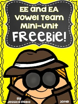 VOWEL TEAM Freebie - Phonics and Word Work