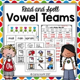 VOWEL TEAMS - Read and Spell With Long Vowels!