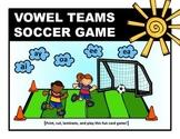 VOWEL TEAMS SOCCER GAME