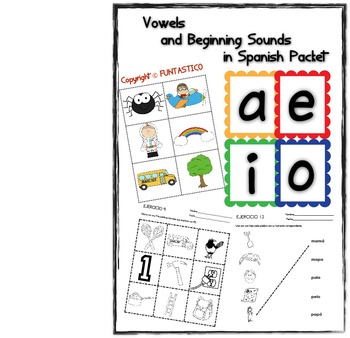 VOWELS AND BEGINNING SOUNDS IN SPANISH