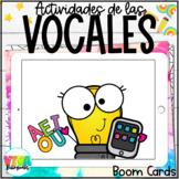 VOWELS BOOM CARDS BUNDLE (SPANISH) Distance learning