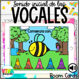 VOWELS BOOM CARDS (Spanish) Distance Learning
