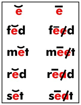 VOWELS MADE EASY FLASH CARDS