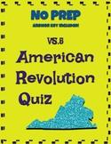 VS.5 American Revolution Question Set