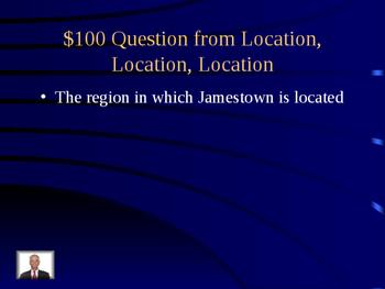 VS 3 Jamestown Jeopardy