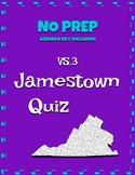 VS.3 Jamestown Question Set