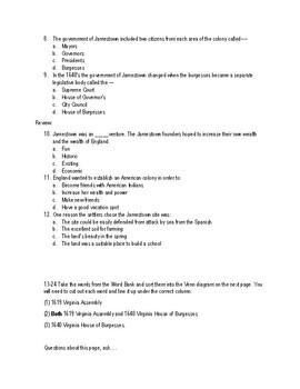 VS.3d Virginia's New Government Test and Study Guide