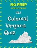 VS.4 Colonial Virginia Question Set