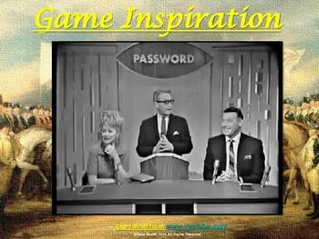 VS.5 - American Revolution Codeword Game (Similar to Password)