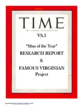 VS.5b Revolutionary War - TIME Magazine Research Project & Famous Virginians