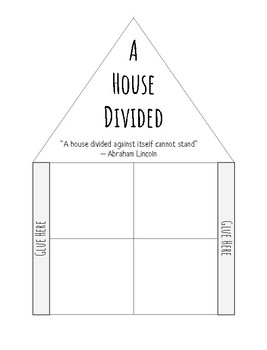 VS.7 A House Divided- A Civil War foldable