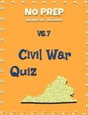 VS.7 Civil War Question Set