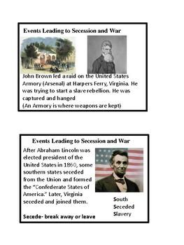 VS 7 Civil War Visual Cards