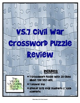VS.7 Crossword Puzzle Review