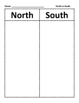 VS 7 North vs. South Sort - Civil War