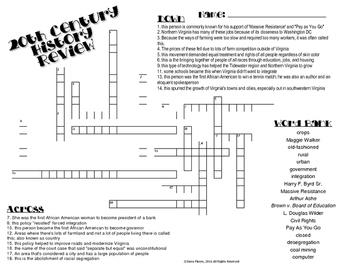 VS.9 Crossword Puzzle Review
