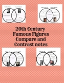 VS.9 Famous Figures Compare and Contrast notes