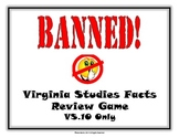 VS.10 - Virginia Current Government & Economics Banned Game (Similar to Taboo)