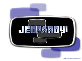 VS.2 a-c VA Geography Jeopardy Review
