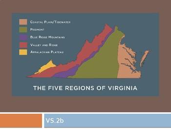 Virginia Studies VS.2b Geographic Regions of Virginia PPT