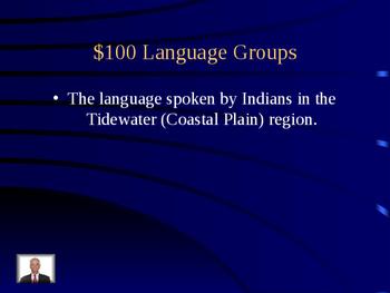 VS2defg (Virginia's Indians) Jeopardy