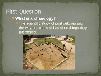 Virginia Studies VS.2f Archaeologists Powerpoint