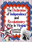 VS.5 Declaration of Independence and Revolutionary War in Virginia