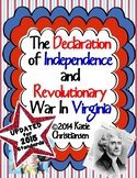 VS.5 Declaration of Independence and Revolutionary War in Virginia