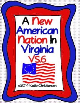 VS.6 A New American Nation Virginia History