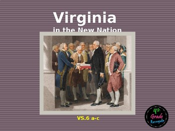 VS6 Virginia and the New Nation Powerpoint Lesson
