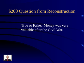 VS8 Reconstruction in Virginia Jeopardy Game
