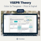 VSEPR Theory Color-In Tangram Worksheet
