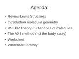 VSEPR Theory Lesson