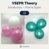 VSEPR Theory Molecular Geometry Introductory Lab