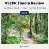 VSEPR Theory Review Question Trail Activity - Print and Di
