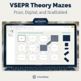 VSEPR Theory Worksheet Mazes Activities - Print and Digita