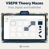 VSEPR Theory Worksheet Mazes - Print and Digital    Digita