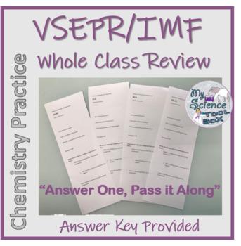 Vsepr Worksheet | Teachers Pay Teachers