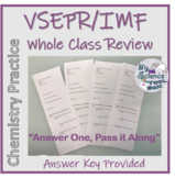 VSEPR and IMF Whole Class Review and Formative Assessment