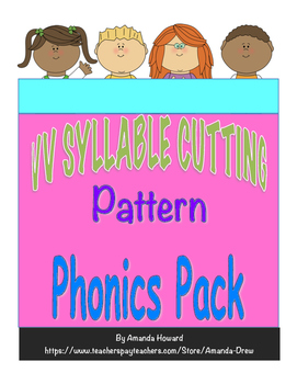 VV Syllable Cutting Pattern Leveled Pack