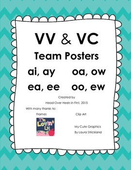 VV and VC Team Posters