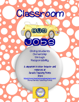 Retro Classroom Jobs and Routines--Fun Teacher Organization PLUS Management