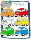 VW Bus Clip Art Pack
