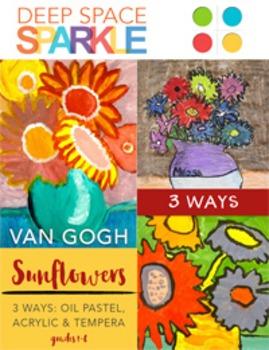 Van Gogh Artist Bundle-Projects & Resources