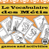 "Va à la Pêche: Les Métis/ French ""Go Fish"" Card Game"