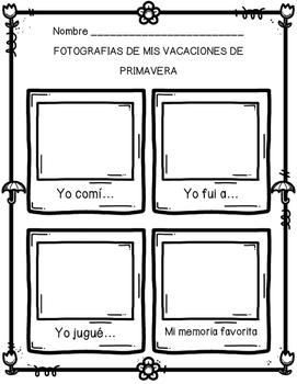 Vacaciones de primavera (Spring Break SPANISH)