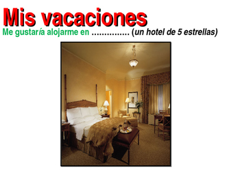 Vacaciones en un hotel
