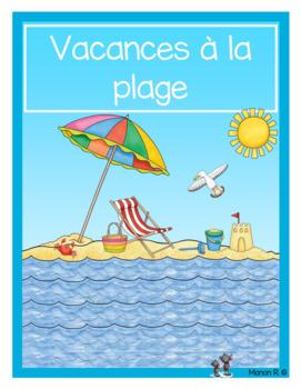 Vacances à la plage (littératie et numératie)